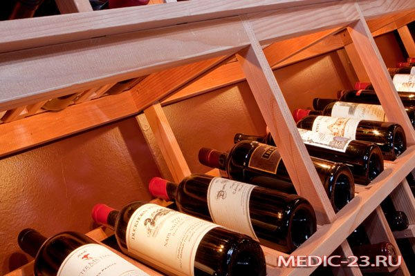 Правильное хранение вина