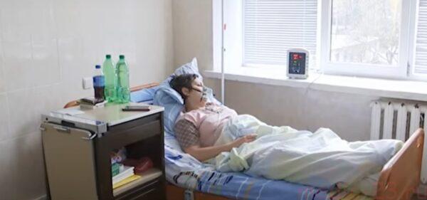 пневмония у женщины в больнице